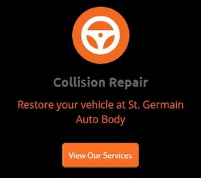 Collision Repair - Restore your vehicle at St. Geramain Auto Body - View Our Services