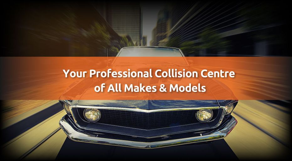 Your Professional Collision Centre of All Makes & Models - Car after collision
